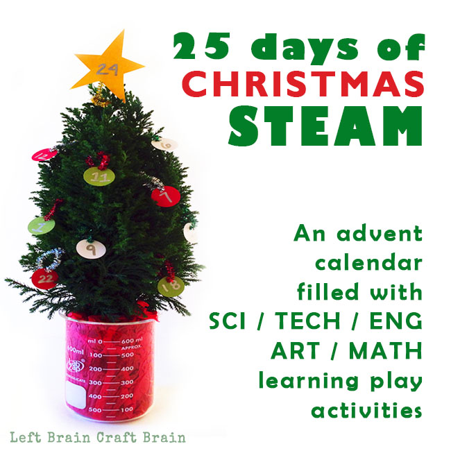 25 Days of Christmas STEAM Advent Calendar