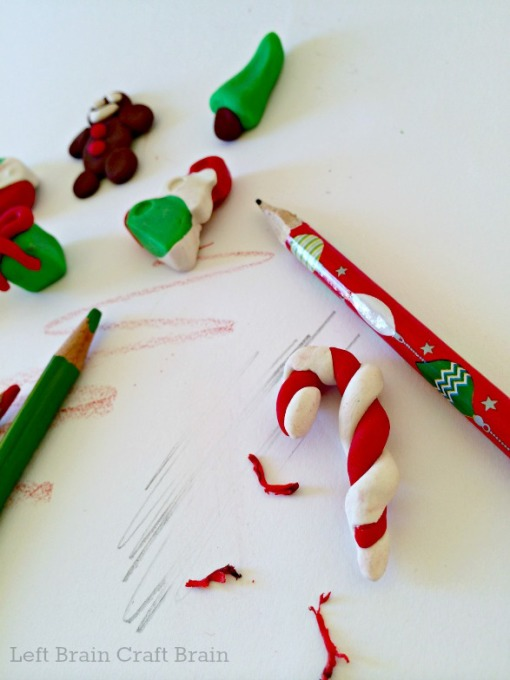 Candy Cane Eraser Left Brain Craft Brain