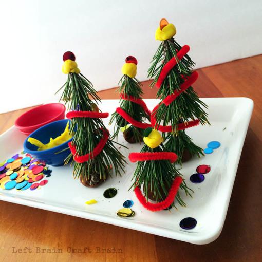 Christmas Trees Left Brain Craft Brain