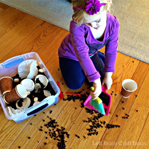 Clean Up Sensory Bin Play Left Brain Craft Brain