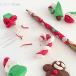 DIY Christmas Erasers