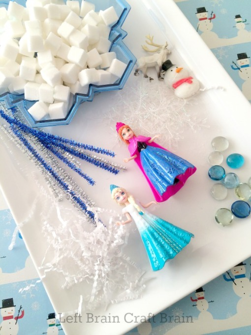 Elsa's Ice Palace Supplies