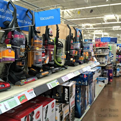 Eureka Vacuums at Walmart Left Brain Craft Brain