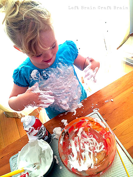 Getting Messy Pumpkin Pie Painting Left Brain Craft Brain