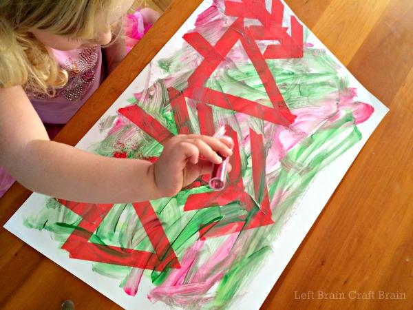 Glitter Forest Left Brain Craft Brain