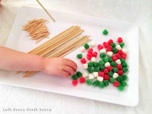 Gumdrop Christmas Tree Supplies Left Brain Craft Brain
