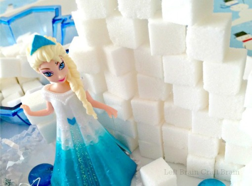Invitation to Build Elsa's Ice Palace Left Brain Craft Brain featured 2