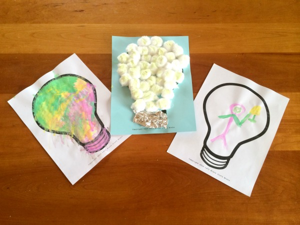 Lightbulb Crafts Left Brain Craft Brain