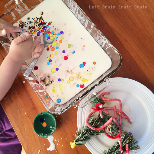 Oobleck After the Christmas Forest Left Brain Craft Brain