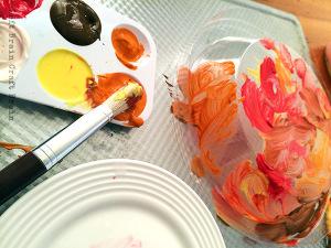 Five Minute Crafts: Pumpkin Pie Painting