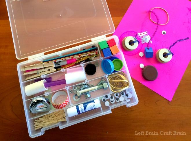Portable Tinkering Kit for Preschoolers