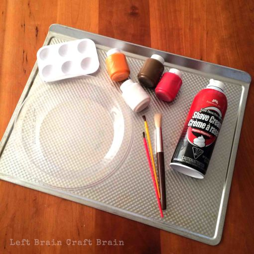 Pumpkin Pie Painting Supplies Left Brain Craft Brain