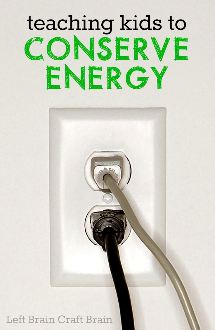 What does it mean to conserve energy?