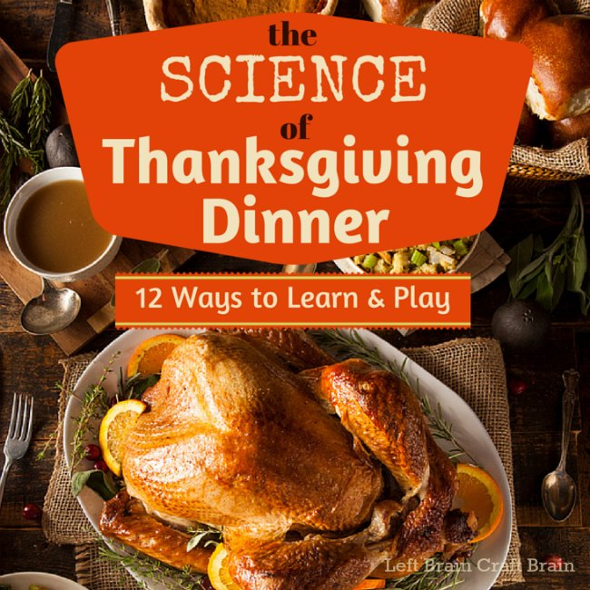 The Science of Thanksgiving Dinner Left Brain Craft Brain FB
