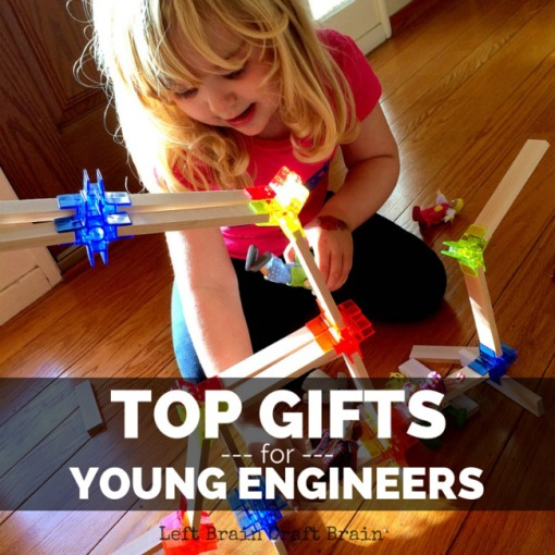 Top Gifts for Young Engineers Left Brain Craft Brain FB
