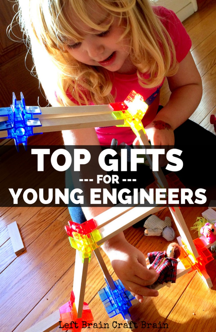 Toys For Engineers : Top gifts for young engineers left brain craft