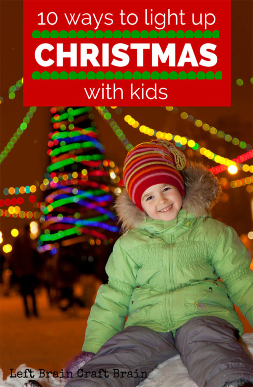 10 Ways to Light Up Christmas has fun ideas for games, activities and more. All for kids but fun for adults too.