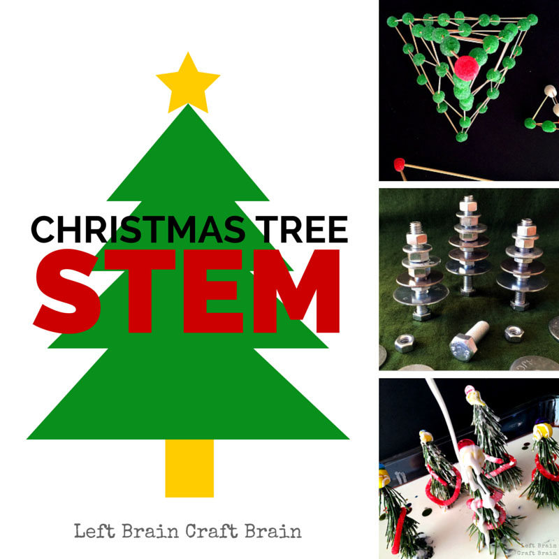 Christmas Tree STEM Left Brain Craft Brain FB