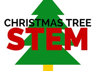 christmas tree stem activities left brain craft brain