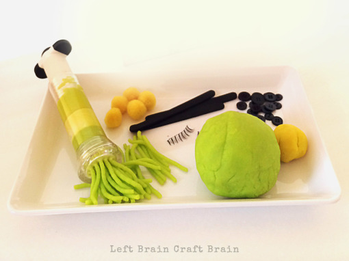 Grinch Play Dough Supplies Left Brain Craft Brain