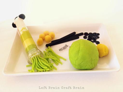Grinch Play Dough Supplies Left Brain Craft Brain