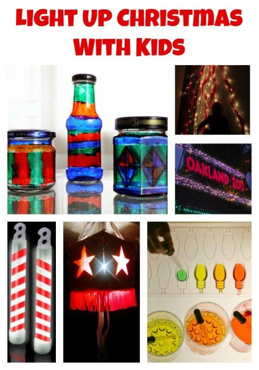 Light Up Collage Left Brain Craft Brain