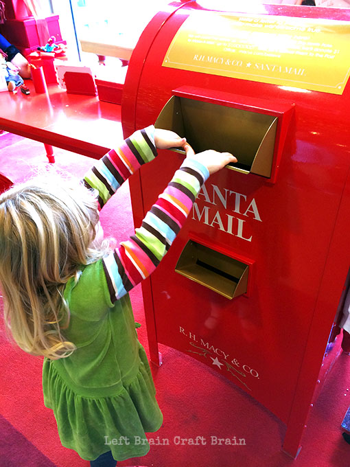 Macys Believe Santa Mailbox Left Brain Craft Brain