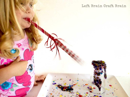 NYE Slime Noisemaker Left Brain Craft Brain