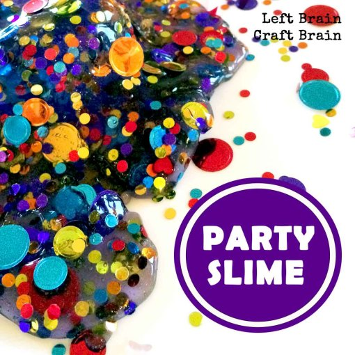 Party Slime Left Brain Craft Brain FB