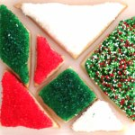 Tangram Christmas Cookies