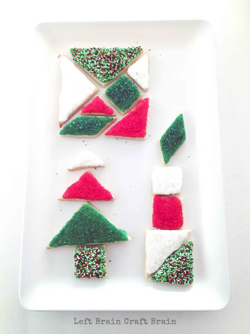 Tangram Cookie Designs Left Brain Craft Brain 2