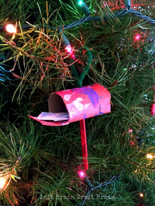 The Jolly Christmas Postman Mailbox Ornament Left Brain Craft Brain