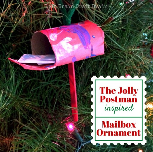 The Jolly Postman Inspired Mailbox Ornament Left Brain Craft Brain FB
