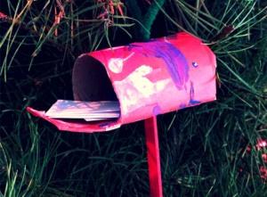 The Jolly Christmas Postman Mailbox Ornament