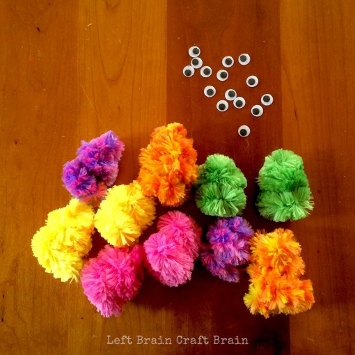 10 Little Monsters Left Brain Craft Brain