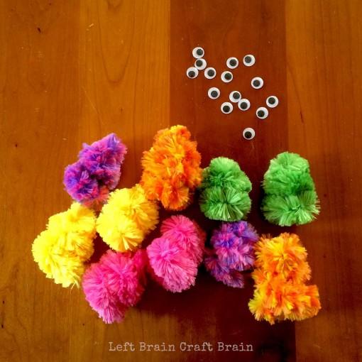 10 Little Monsters Left Brain Craft Brain