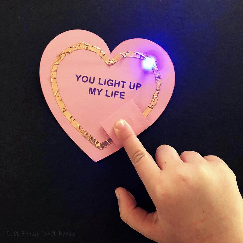 UPDATED: Light Up Circuit Valentines - Left Brain Craft Brain