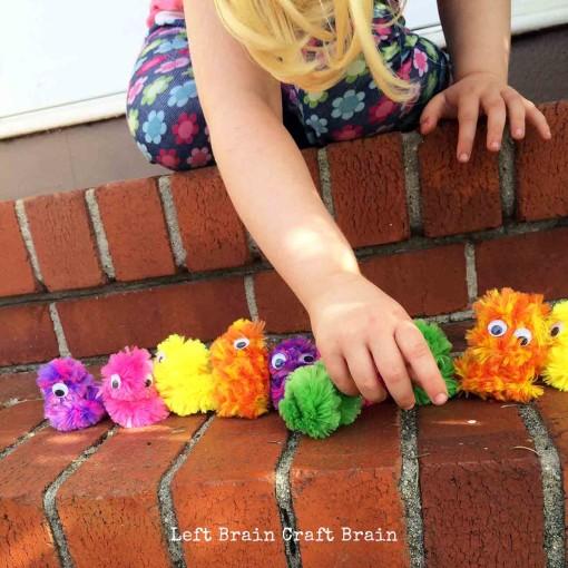 Googly Monster Lineup Left Brain Craft Brain