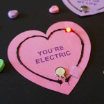 Light Up Circuit Valentines