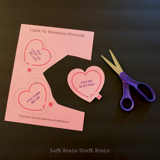 Valentine Circuit Printable Left Brain Craft Brain