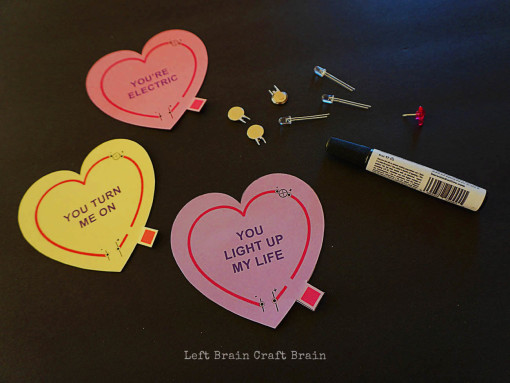 Valentine Circuits Supplies Left Brain Craft Brain 2