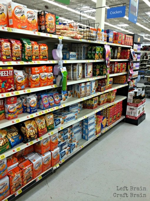 Walmart Goldfish Aisle Left Brain Craft Brain