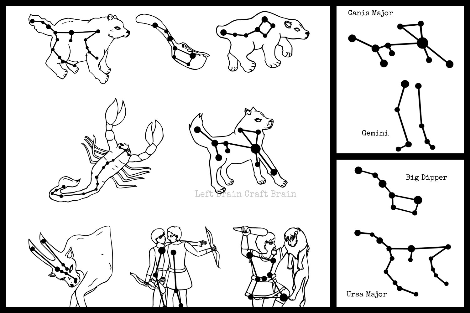 easy constellations to draw - photo #48