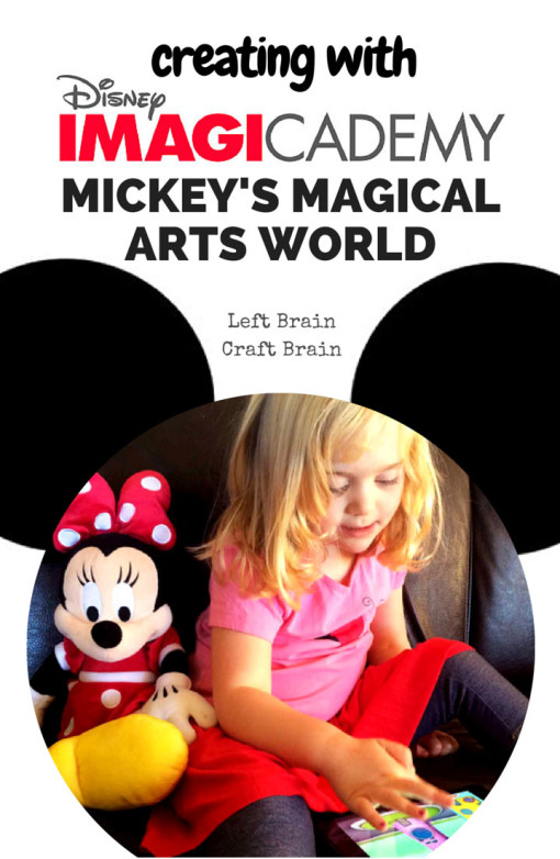 Disney Imagicademy Mickey's Magical Arts World excites kids to learn by combining the characters they love with opportunities to make, create and explore.