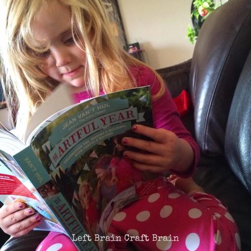 Reading The Artful Year Left Brain Craft Brain