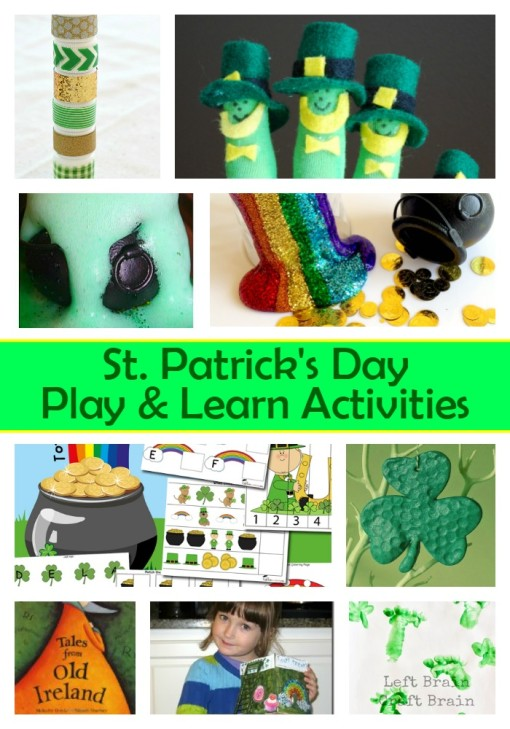 St Patrick's Day Play Learn Activities Left Brain Craft Brain
