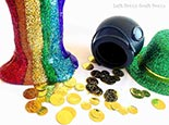 st patrick u0027s day rainbow slime left brain craft brain