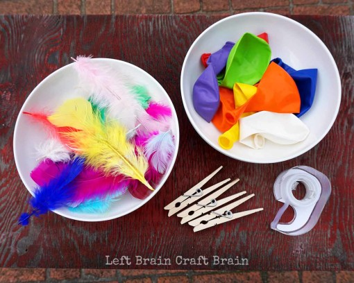 Whirly Bird Supplies Left Brain Craft Brain
