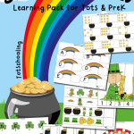 St. Patrick's Day Learning Pack | Totschooling