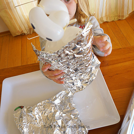Aluminum Foil Baymax Armor Left Brain Craft Brain